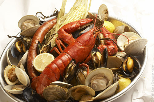 clambake stove top clambake easy summer clambake newengland clambake ...